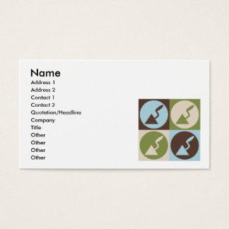 Pop Art Plaster Business Card