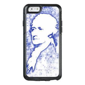 Pop Art Portrait Alexander Hamilton in Blue OtterBox iPhone 6/6s Case