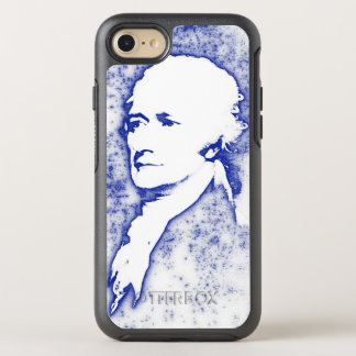 Pop Art Portrait Alexander Hamilton in Blue OtterBox Symmetry iPhone 7 Case