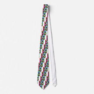 Pop Art Pug Tie