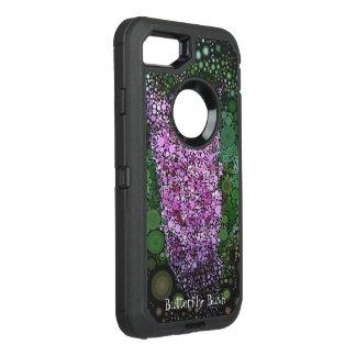 Pop Art Purple Butterfly Bush Summer Otterbox Case