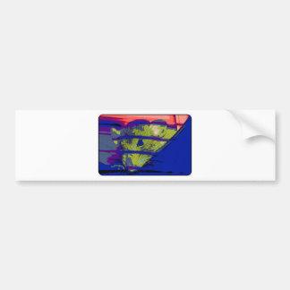 Pop Art Rat Bumper Sticker