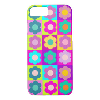Pop art retro floral iPhone 8/7 case