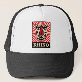 Pop Art Rhinoceros Trucker Hat