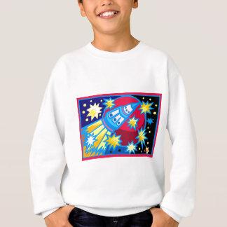Pop Art Rocket Sweatshirt