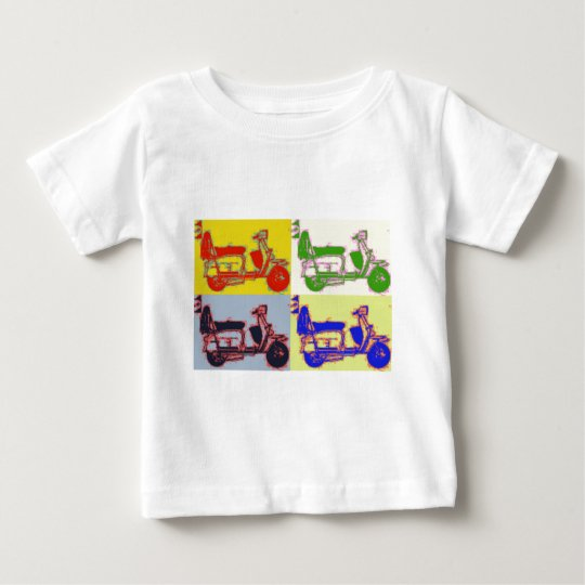 POP ART SCOOTER BABY T-Shirt