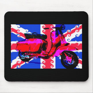 POP Art Scooter Mouse Mat