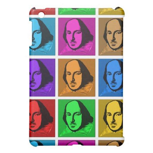 Pop Art Shakespeare iPad Mini Cover
