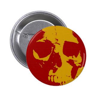 Pop Art Skull Buttons