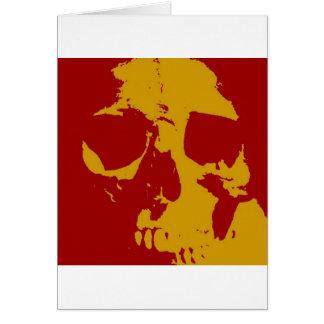Pop Art Skull Cards