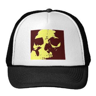 Pop Art Skull Mesh Hats
