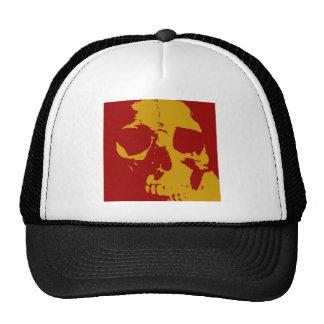 Pop Art Skull Mesh Hat
