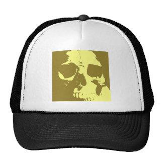 Pop Art Skull Hat