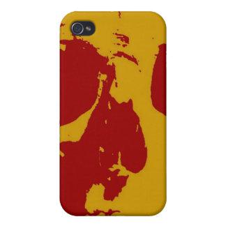 Pop Art Skull Case For iPhone 4