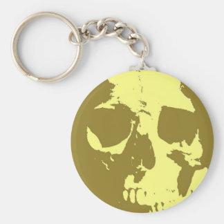 Pop Art Skull Key Chains