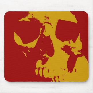 Pop Art Skull Mouse Pads
