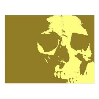 Pop Art Skull Post Cards