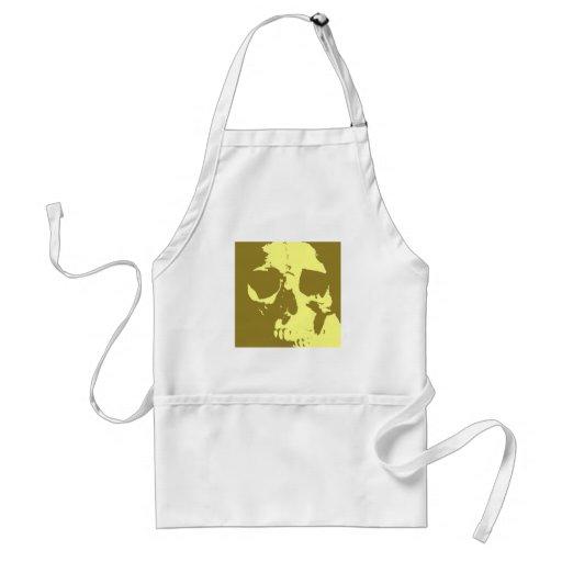 Pop Art Skull Standard Apron