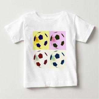 Pop Art Soccer Balls Baby T-Shirt