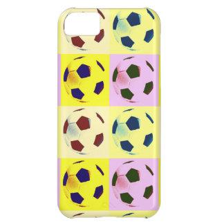 Pop Art Soccer Balls iPhone 5C Cover