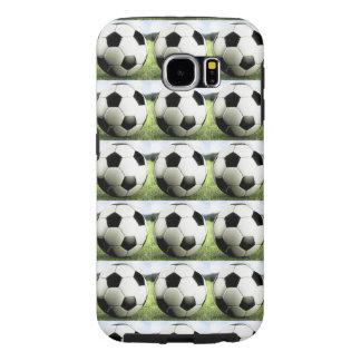 Pop Art Soccer Balls Samsung Galaxy S6 Cases