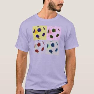 Pop Art Soccer Balls T-Shirt
