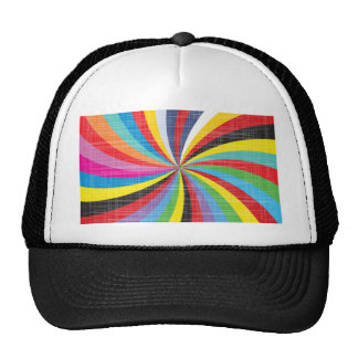 Pop Art Spiral Cap