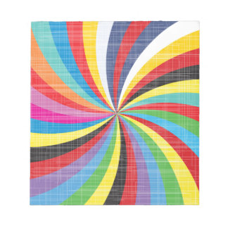 Pop Art Spiral Notepad