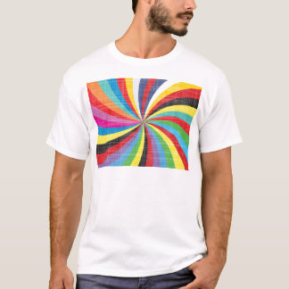 Pop Art Spiral T-Shirt