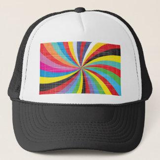 Pop Art Spiral Trucker Hat
