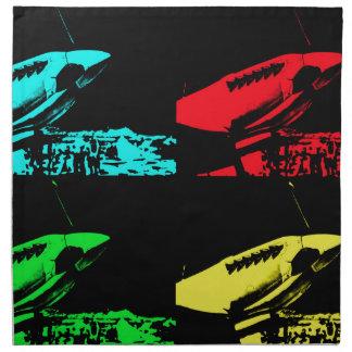 Pop Art Spitfire Napkin