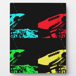 Pop Art Spitfire Plaque