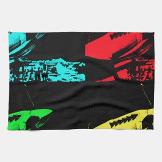 Pop Art Spitfire Tea Towel