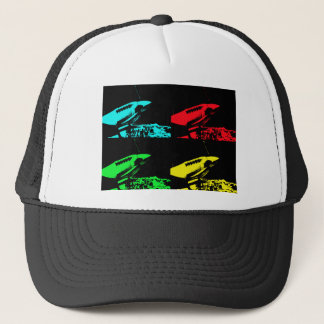 Pop Art Spitfire Trucker Hat