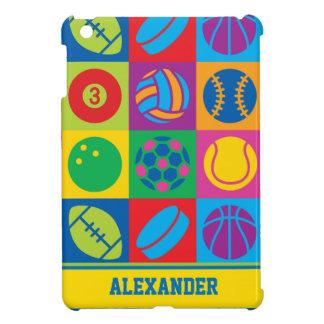 Pop Art Sports Balls iPad Mini Case