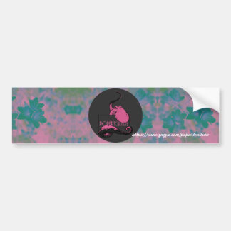 Pop Art Squid Bumper Sticker