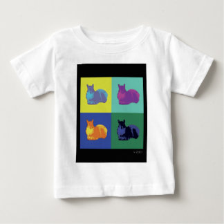 Pop Art Squirrel Baby T-Shirt