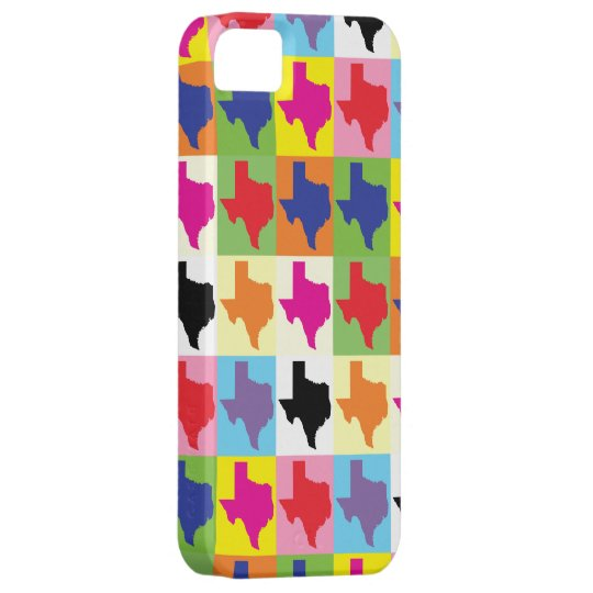 Pop Art State of Texas iPhone 5 Cases