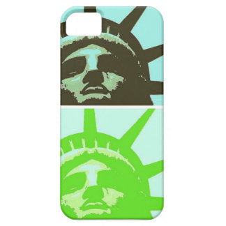 Pop Art Statue of Liberty Close Up iPhone 5 Cover