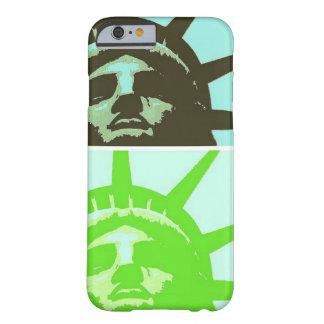 Pop Art Statue of Liberty Close Up iPhone 6 Case