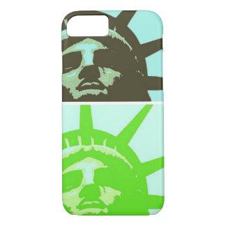 Pop Art Statue of Liberty Close Up iPhone 7 Case