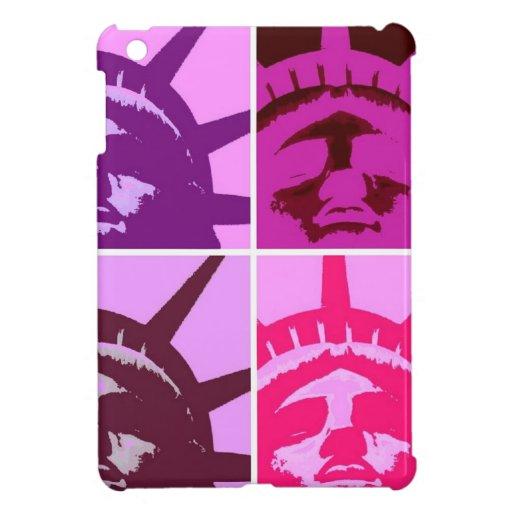Pop Art Statue of Liberty iPad Mini Cases