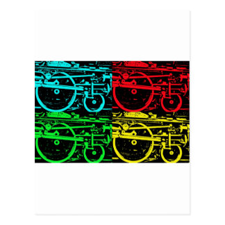 pop art steam post cards