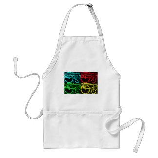 pop art steam standard apron