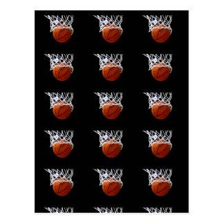 Pop Art Style Basketball Postcards