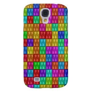 Pop Art Style Guitars 3G/3GS  Galaxy S4 Case