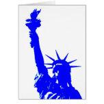 Pop Art Style Statue of Liberty