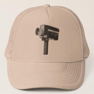 Pop Art Super 8 Movie Camera Trucker Hat