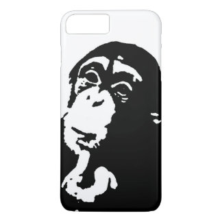 Pop Art Thinking Chimpanzee iPhone 7 Plus Case