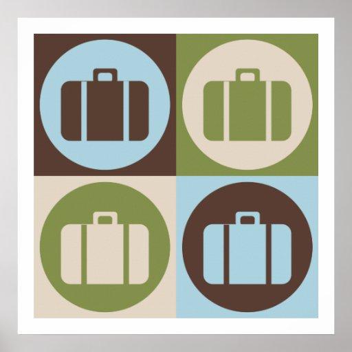 Pop Art Travel Posters